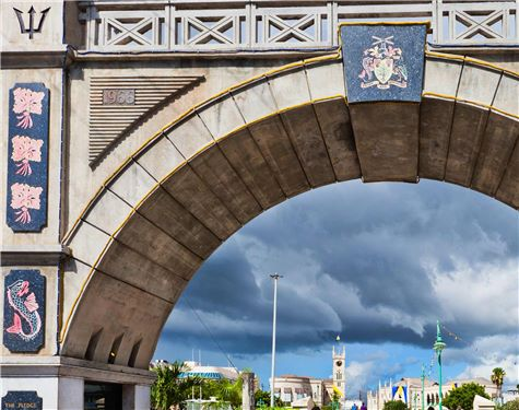Barbados Independence Arch