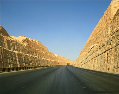 Road near Riyad