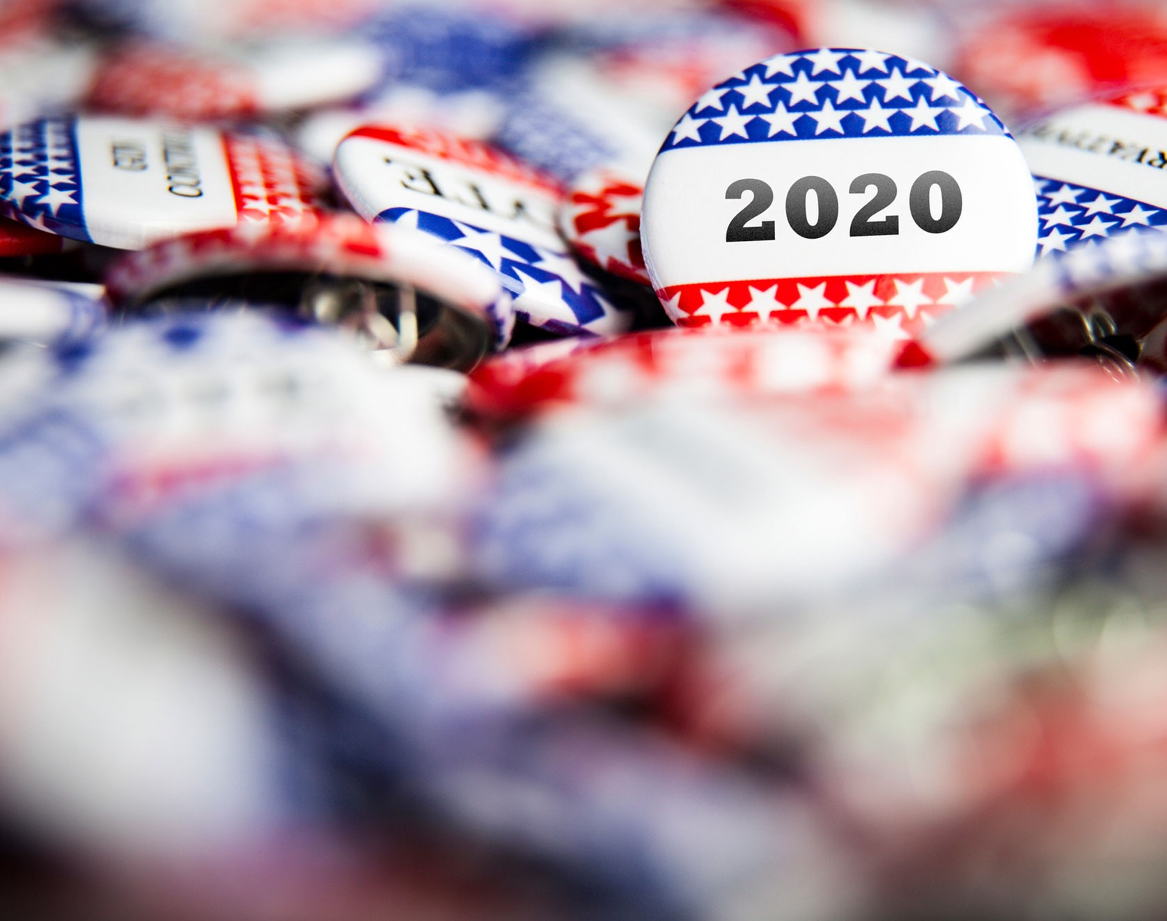 US Election 2020 buttons