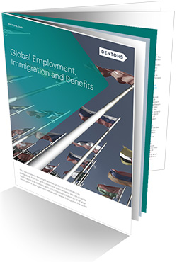 Global Employment, Immigration and Benefits brochure