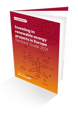 Investing in renewable energy projects in Europe 2021