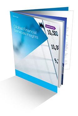 Global Financial Services Insights brochure