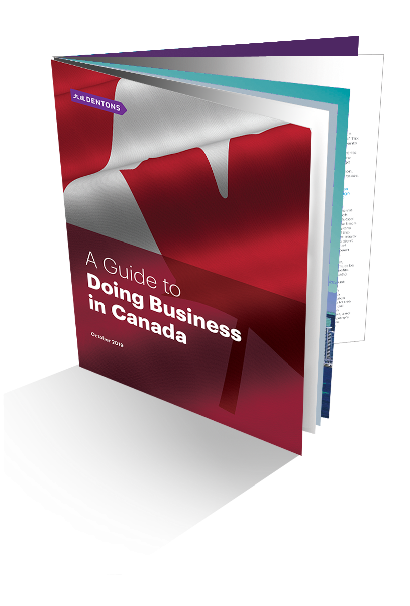 Doing Business in Canada 2019
