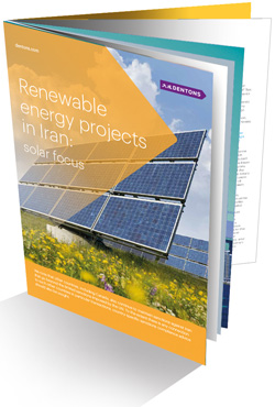 Renewable Projects in Iran