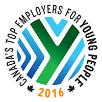 Top employers for young people logo