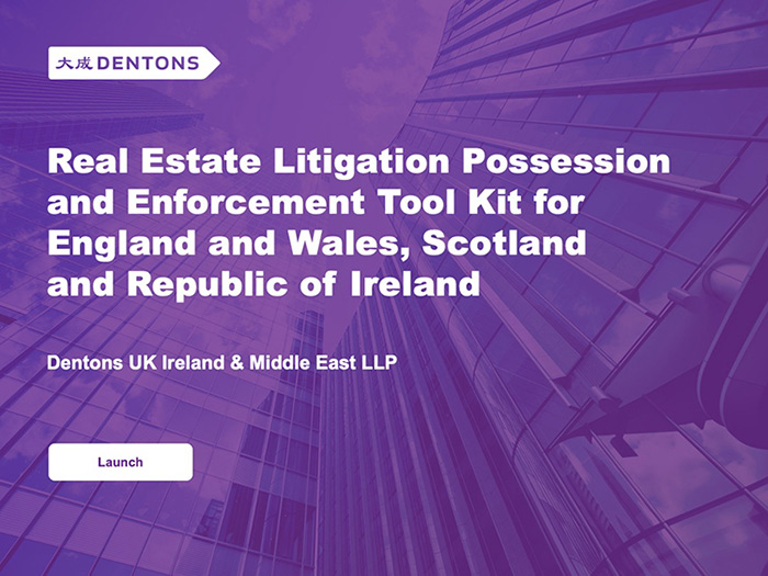 Real Estate Litigation interactive Possession and Enforcement Tool Kit