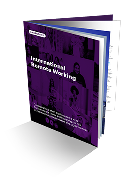 thumbnail for International Remote Working brochure