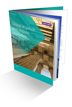 Global litigation and dispute resolution insights