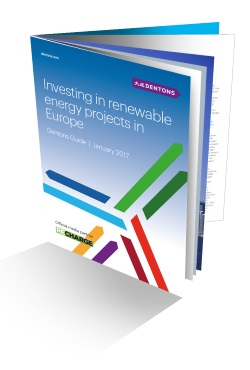 Dentons investing in Renewable Energy Guide
