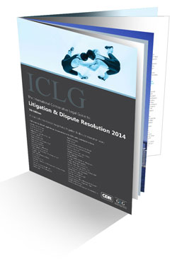 The International Comparative Legal Guide to: Litigation & Dispute Resolution 2014