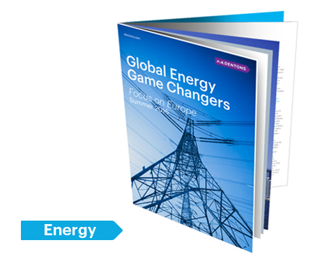 Global Energy Game Changers – Focus sur l'Europe