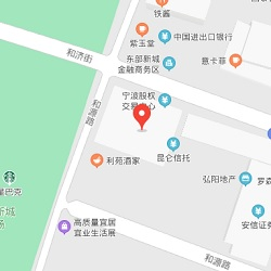Ningbo office location map