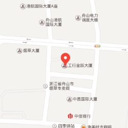 Zhoushan office location map