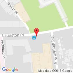 Edinburgh office location map