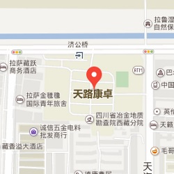 Lhasa office location map