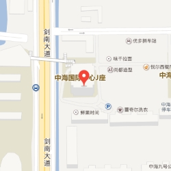 Chengdu office location map