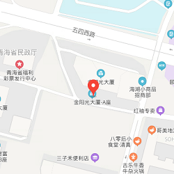 Xining office location map