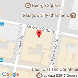 Glasgow office location map
