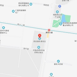 Xian office location map