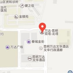 Kunming office location map