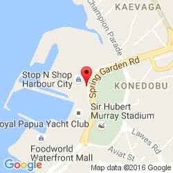 Port Moresby office location map