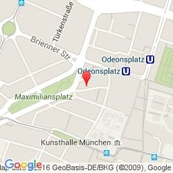 Munich office location map