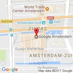 Amsterdam office location map