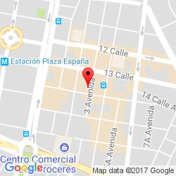 Guatemala City office location map