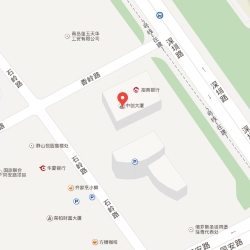 Qingdao office location map