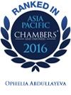 Chambers Asia Pacific 2016