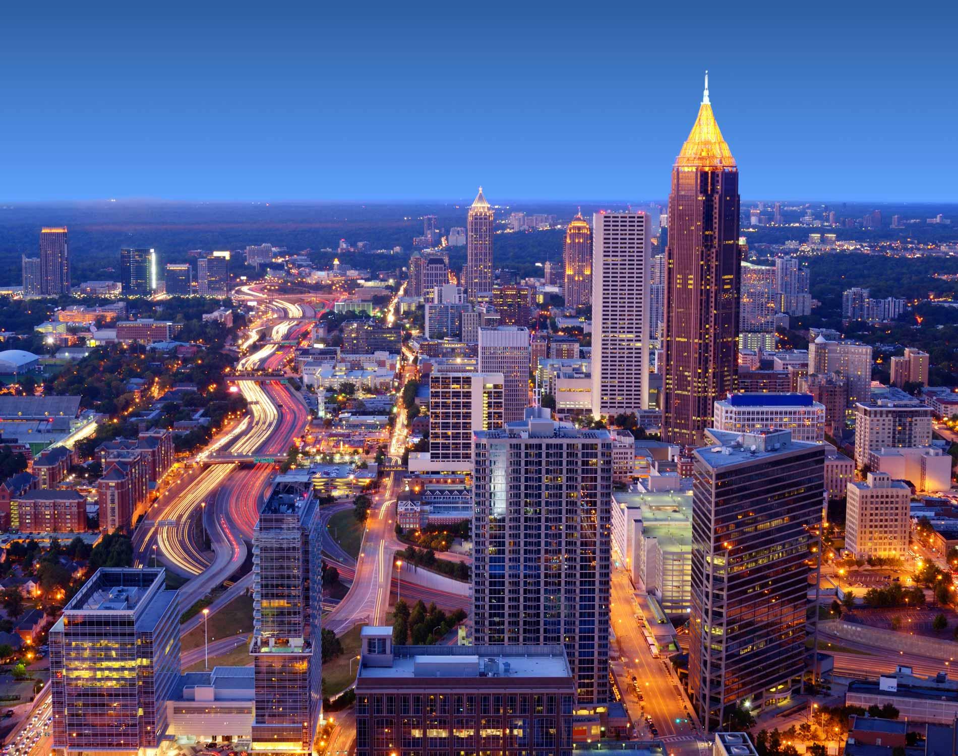 Dentons atlanta for Top beautiful cities in usa